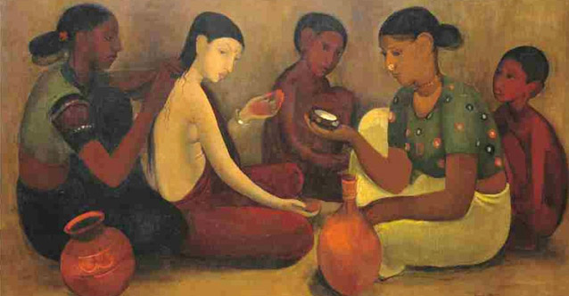 India's figurative painting masters