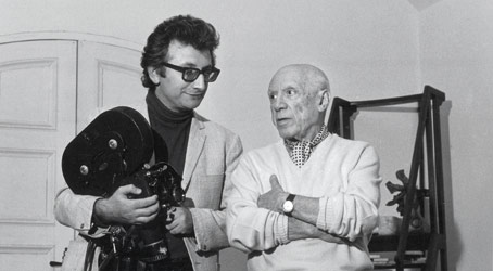 Lucien Clergue and Picasso