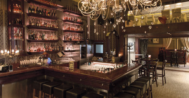 Black Label Whisky Bar