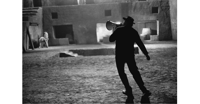 Federico Fellini on the Set of Satyricon, 1969 © Mary Ellen Mark