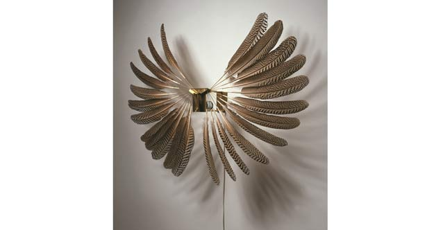 Large Feather Wheel, 1977, Rebecca Horn