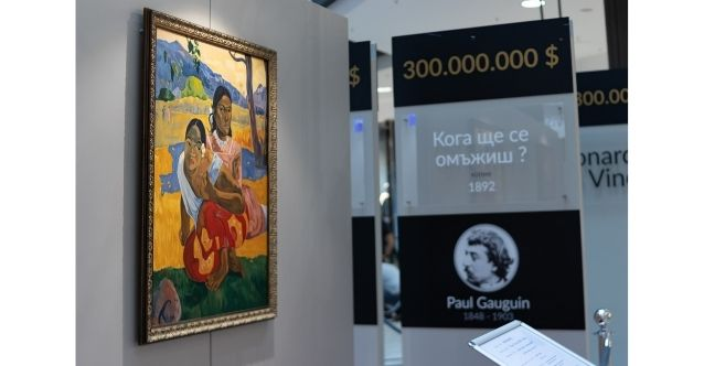 """The most expensive art gallery in the world"" is visiting Serdika Center for the first time in Bulgaria"