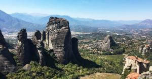 Going up to the Meteora