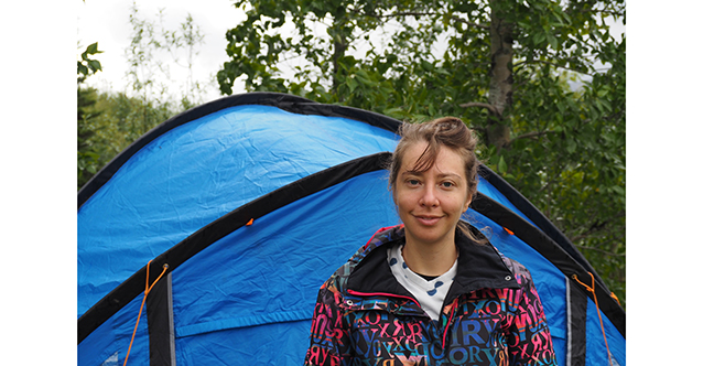 The tent book: Petya Kokudeva