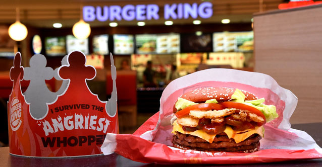 A New Kind of WHOPPER in a Hot Red Bun Makes its Debut at BURGER KING