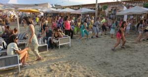Summertime in Beach Bar Serdika Center