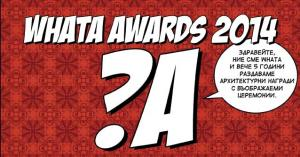 WhaTA Awards 2014