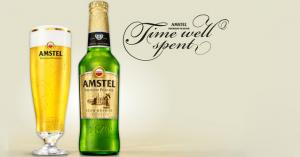 Amstel challenges the people to pour more time in truly precious moments