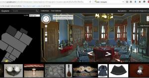 Virtual Tour in REM - Plovdiv with Google Street View
